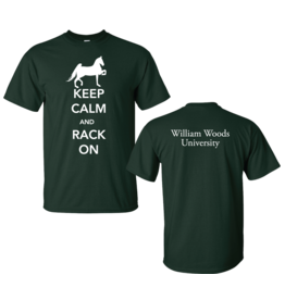 Equestrian Saddle Seat Forest Tee