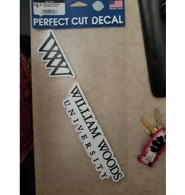WW William Woods University Decal