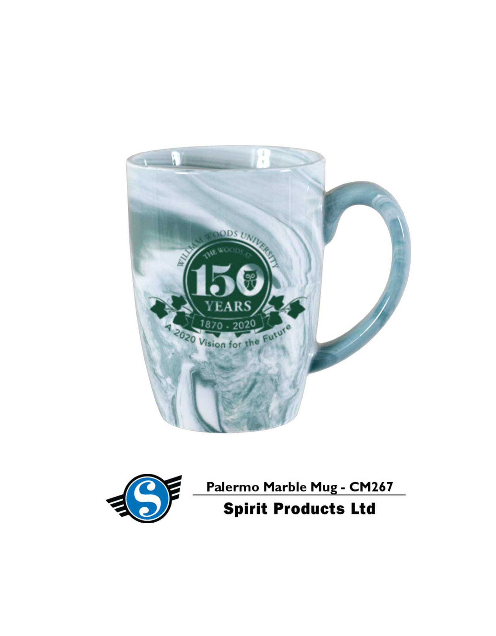 Palermo Marble 150th Mug