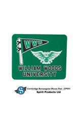"""Mouse Pad w/WWU Owl Logo 9 1/4""""x7 7/8"""""""