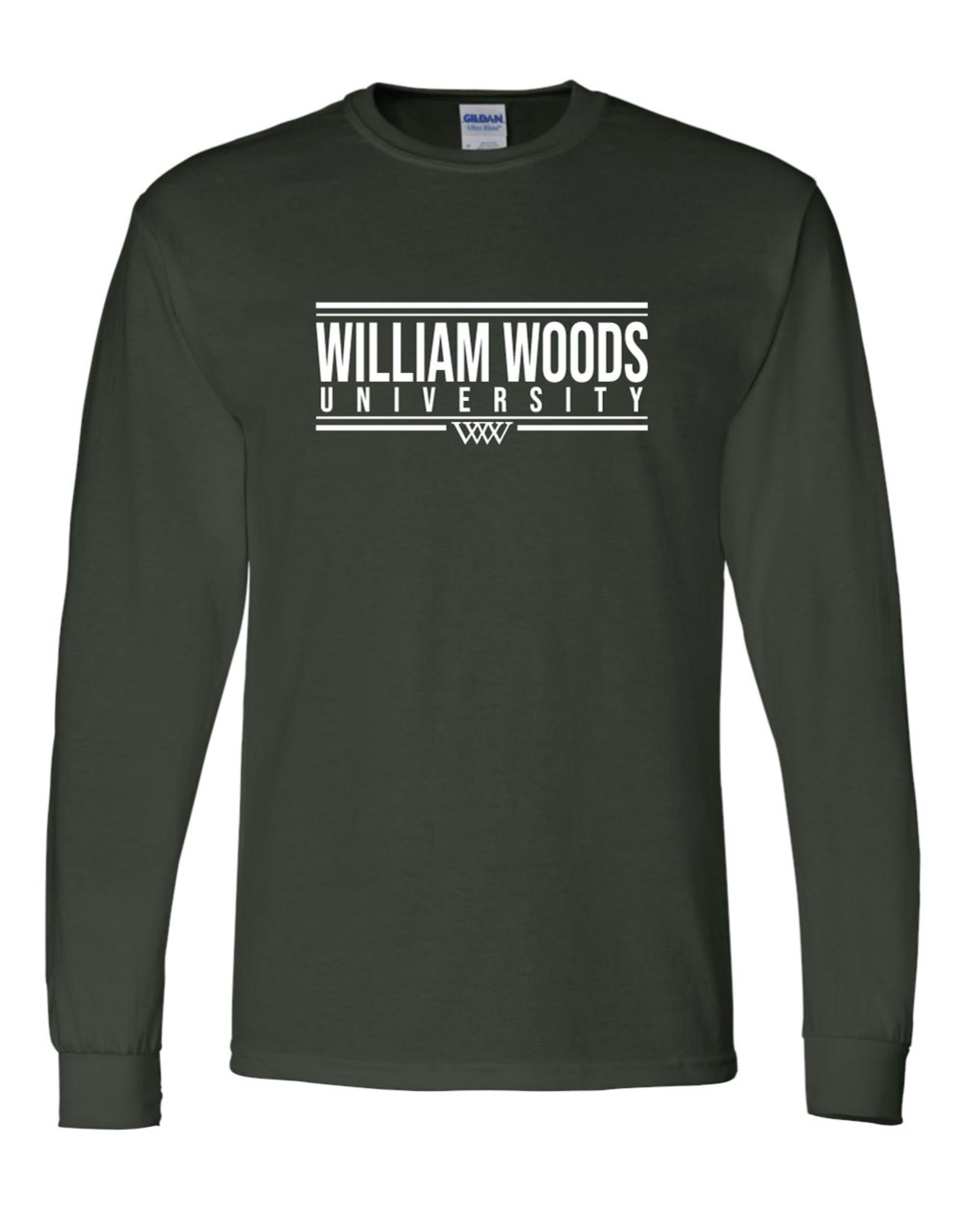 WILLIAM WOODS 50/50 LS Tee