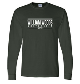 WILLIAM WOODS 50/50 LS Tee