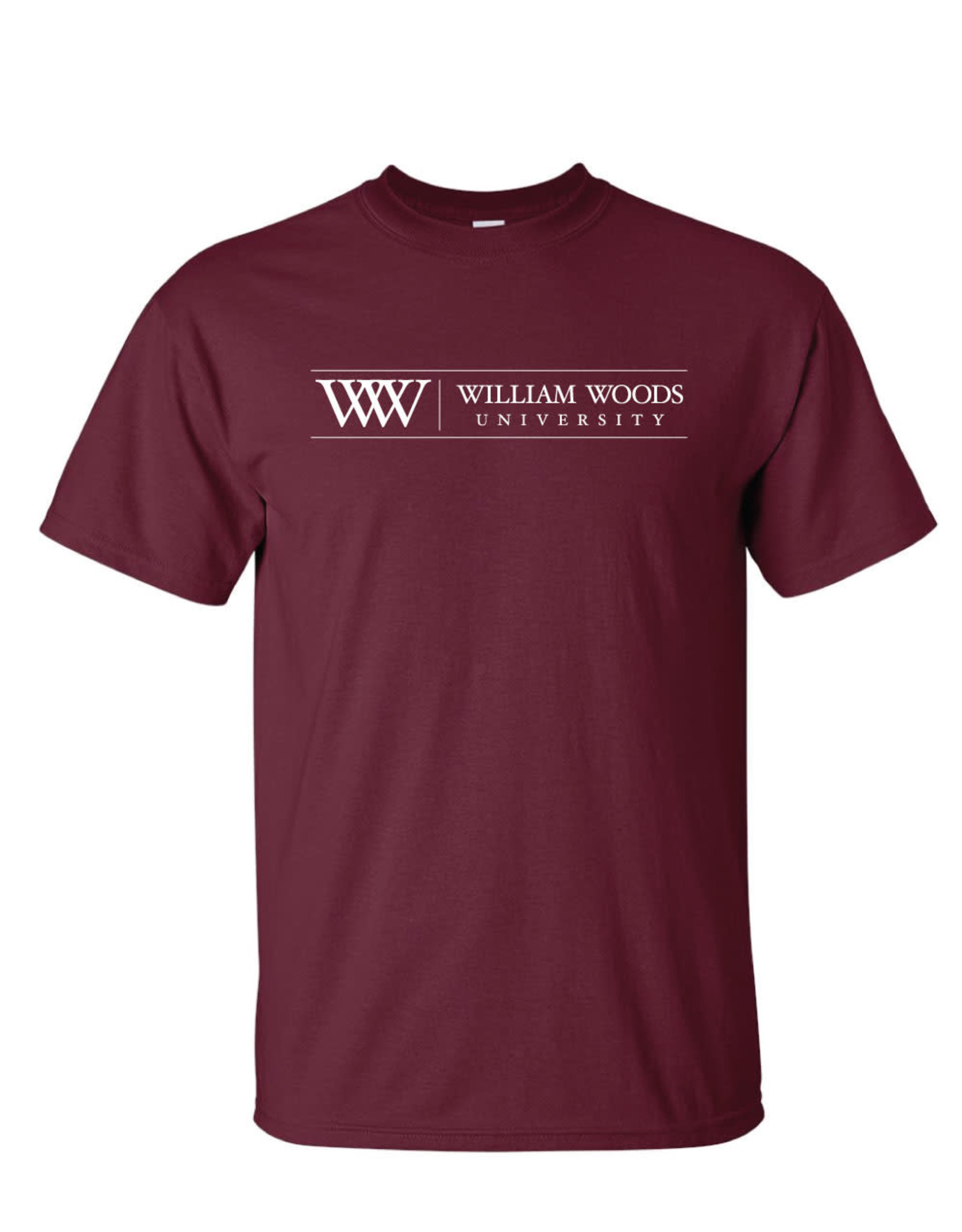 WW William Woods University Short Sleeve Gildan Tee