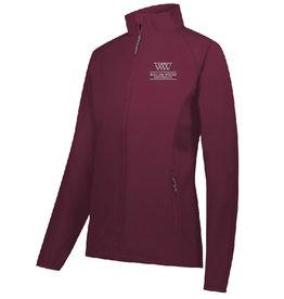 Equestrian LDS Featherlite Softshell Jacket Maroon