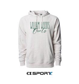 CI Sport CI Sport William Woods University Owls-Skinny  raglan hoodie
