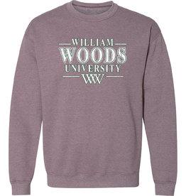 William Woods University Htr. Sport Dk. Maroon Crew