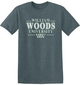 William Woods University SS Tee Dark Heather