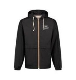 WP Vintage Hooded Rain Jacket-Black