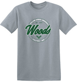 Cap and Tee Combo Set-Sport Gray tee/Forest Green Cap