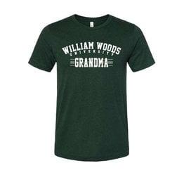Bella Canvas Grandma shirt- Htr. Emerald
