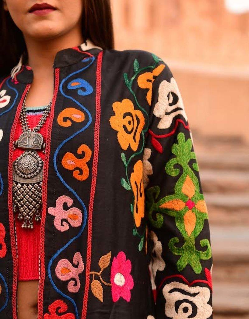 suzani coat