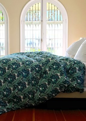 banana leaf duvet cover Q