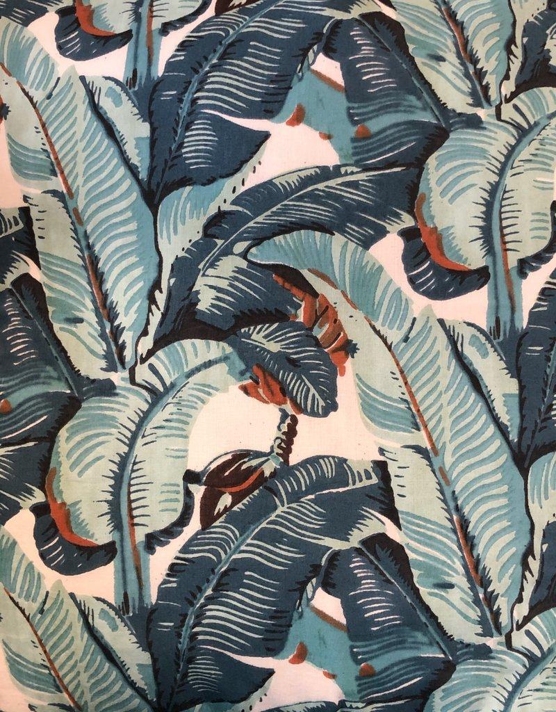 banana leaf duvet cover K