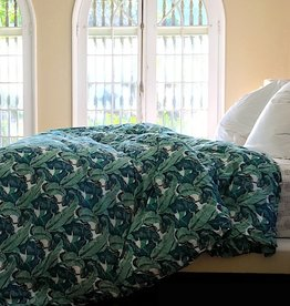 banana leaf duvet cover K