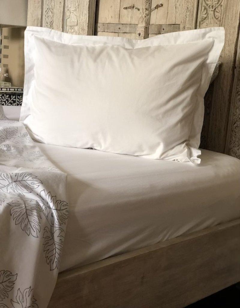 pillowcase set w/ flange