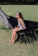 boho crochet hammock