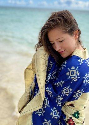 vintage sari kimono