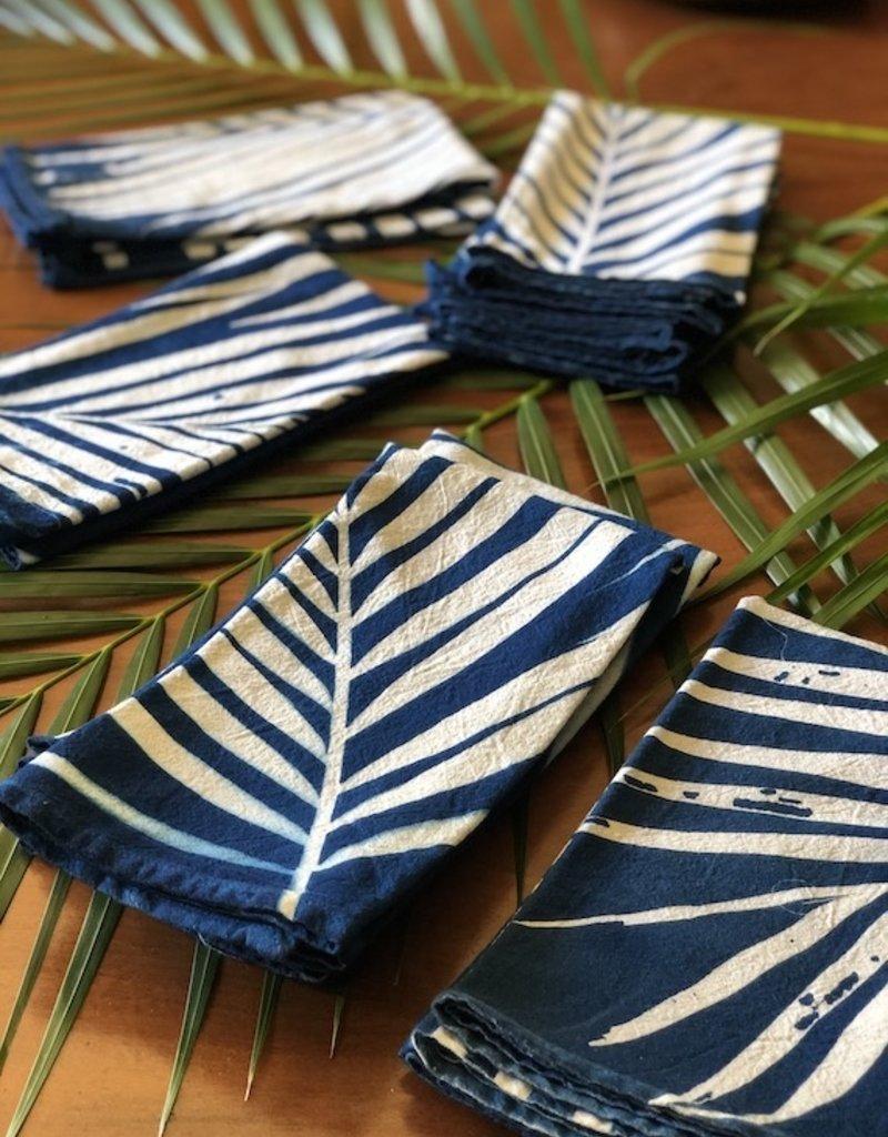 sunprint palms napkin set of 2