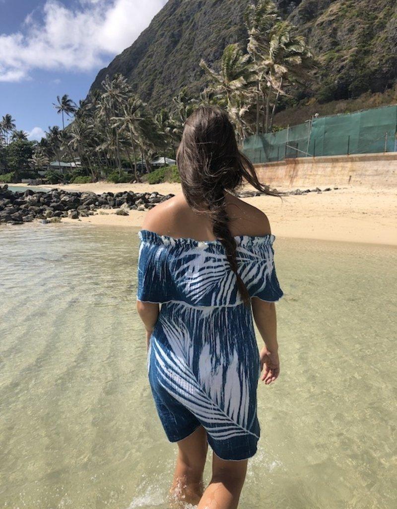 sunprint makena palms dress