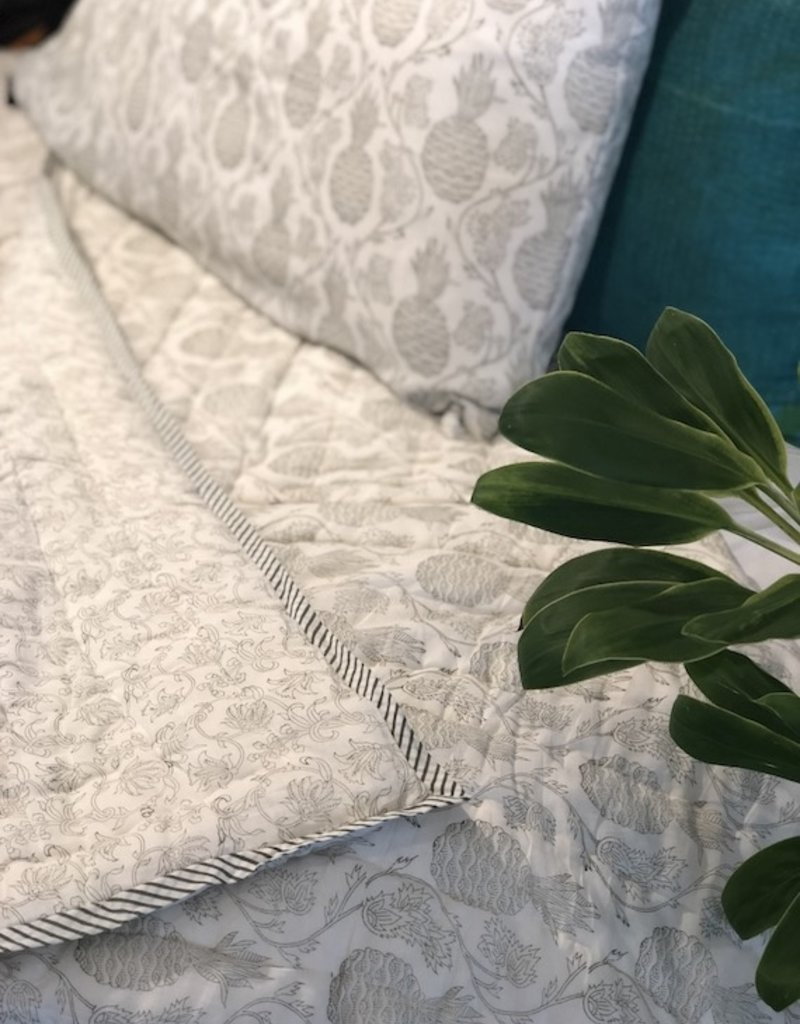 block print comforter