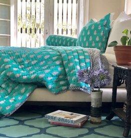 lanipine block print comforter