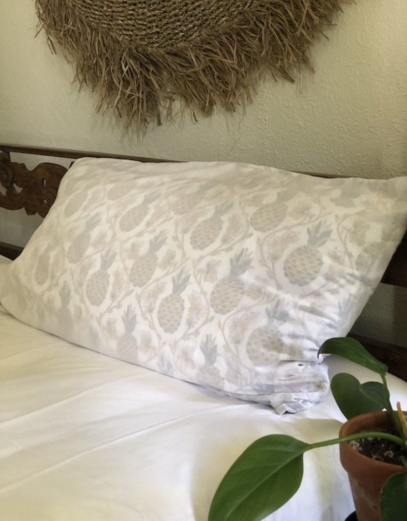 pineapple summer pillowcase set
