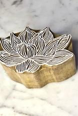 lotus wood block