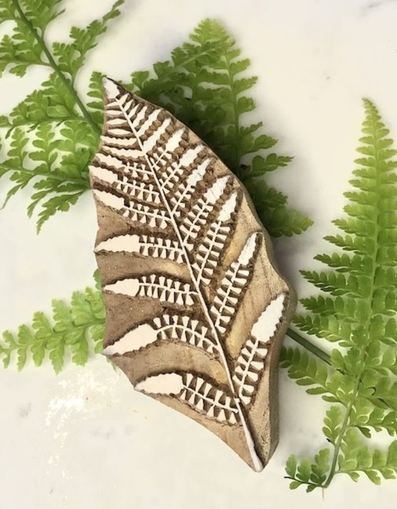 fern wood block