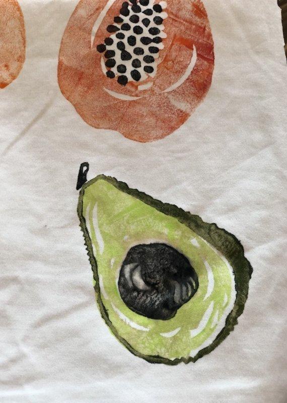 3 part avocado wood block