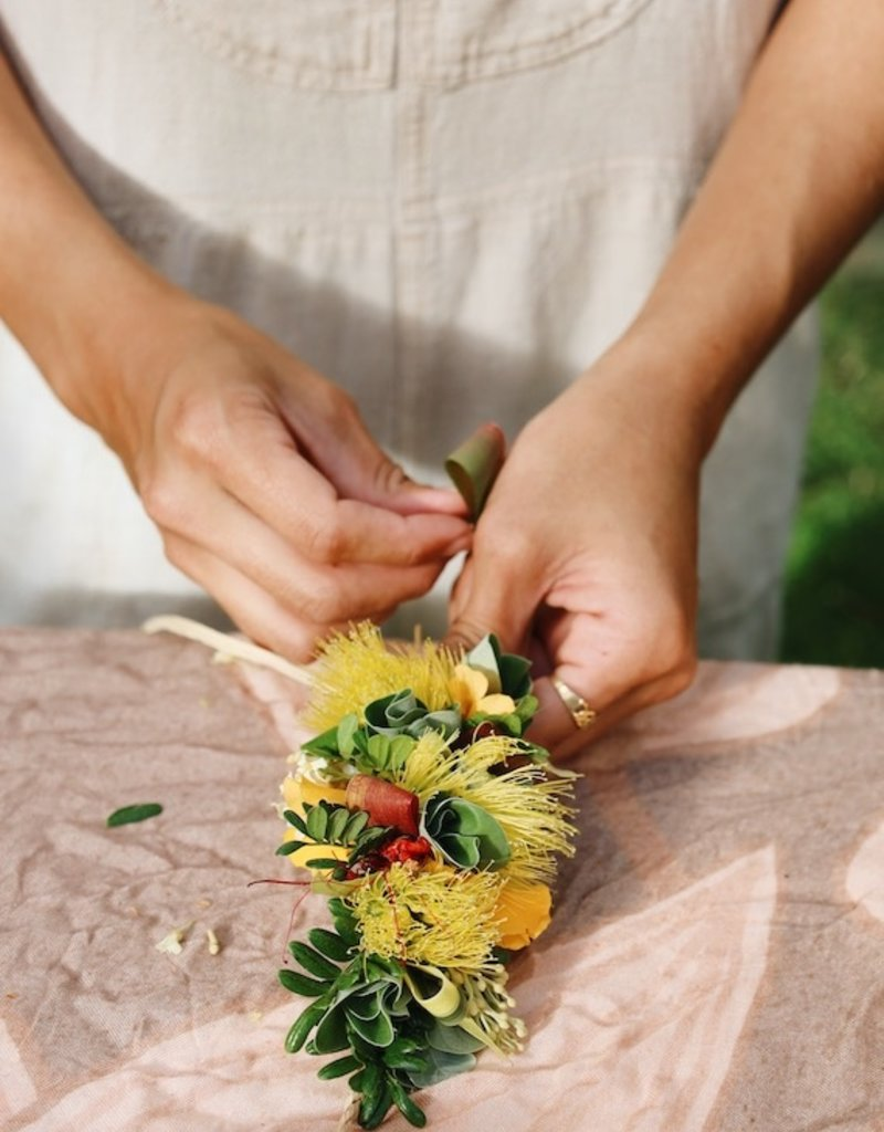 Lei Po'o Workshop with Dillyn