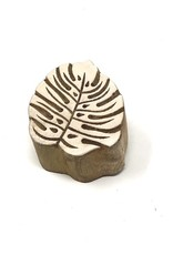 monstera wood block