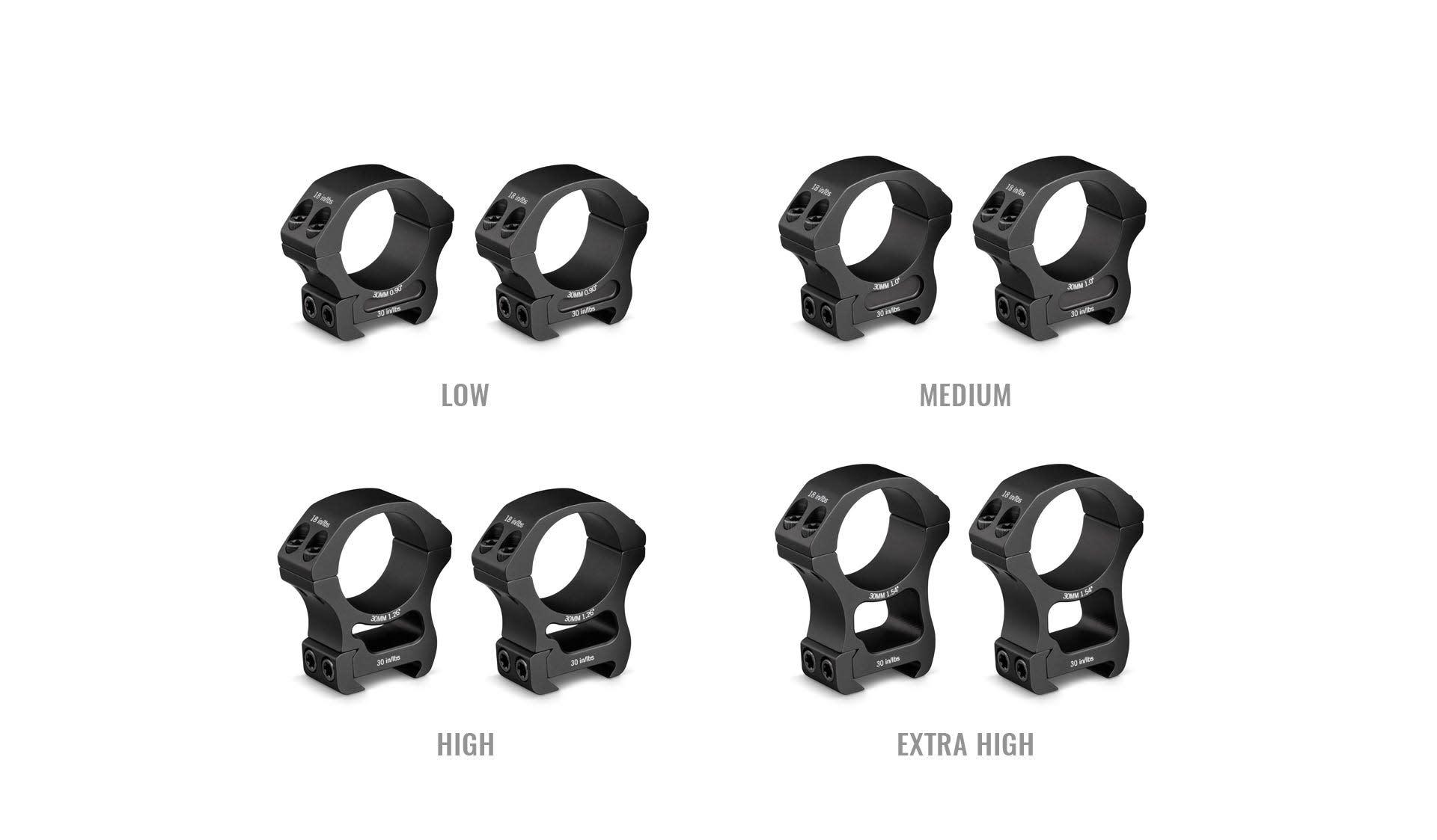 Vortex 30mm High Pro Rings