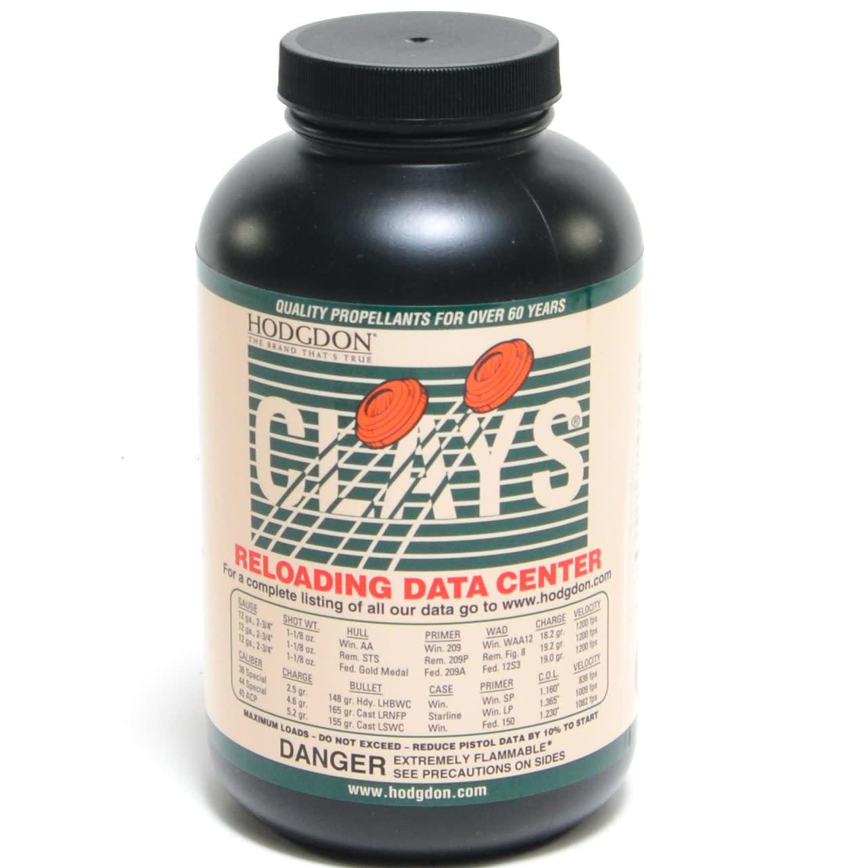Hodgdon Clays Powder 1 lb