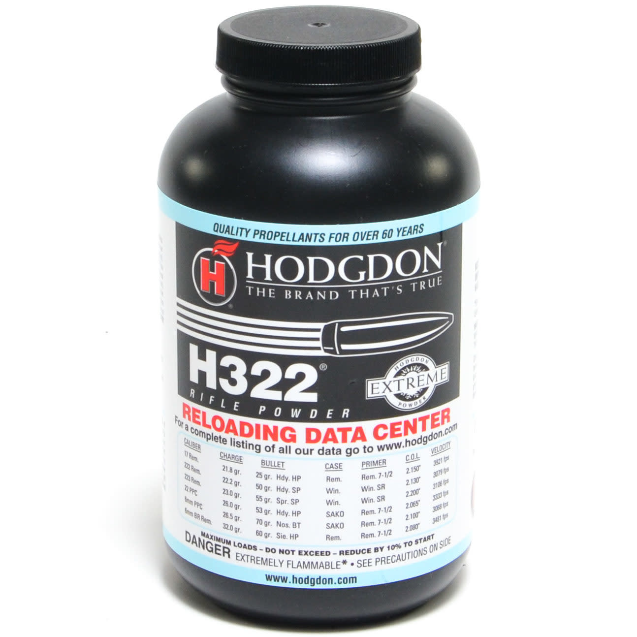 Hodgdon H322 Powder 1 lb