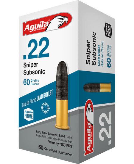 .22 Sniper Subsonic 60gr