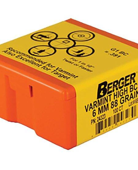 Bullets High BC FB Varmint 6mm 88gr 100pk