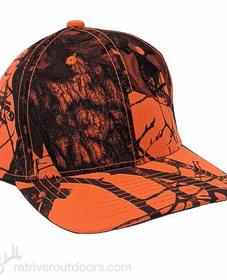 Outdoor Cap (Blaze Orange/ Mossy Oak) Adjustable