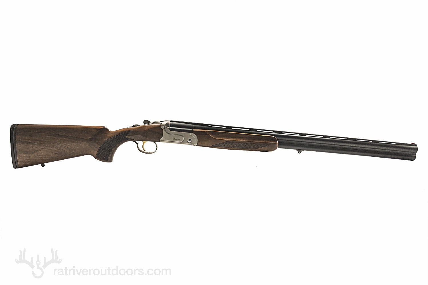 Churchill 206 Silver Standard Walnut 12 Gauge