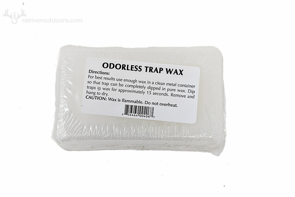 Odorless Trap Wax 1lb Brick White