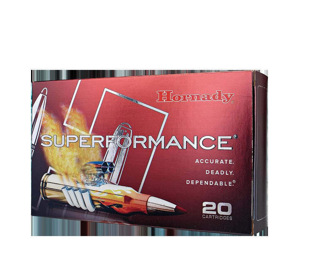 Hornady Superformance 30-06 SPRG 165 gr SST (20 Pk)