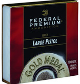 Federal Premium Gold Medal Large Pistol Primers #GM150M (100 Pk)