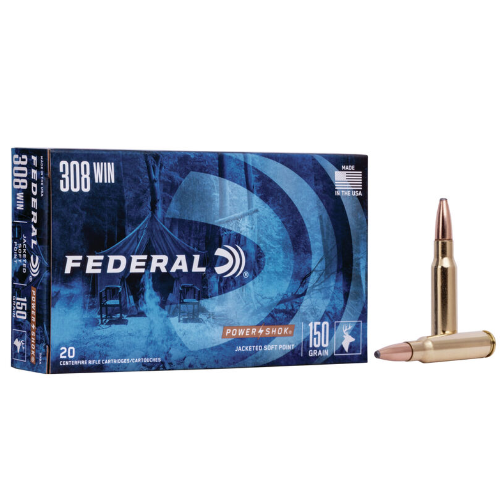 Federal 308 Win. 150 Gr SP (20 Pk)