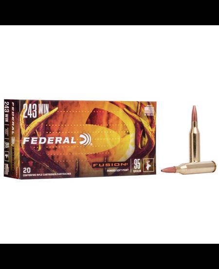 Fusion Rifle Ammo .243 Win 95 Gr