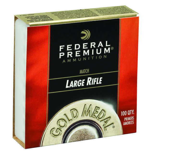Federal Gold Medal Large Rifle Match Primers (100 Pk)