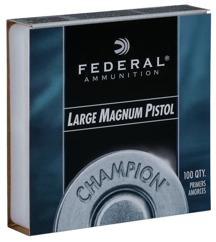 Federal Champion Large Magnum Pistol Primers .155 (100 Pk)