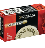 Federal Premium Gold Medal Match .22 LR 40 Gr (50 Pk)