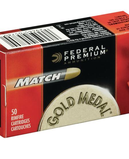 Premium Gold Medal Match .22 LR 40 Gr (50 Pk)