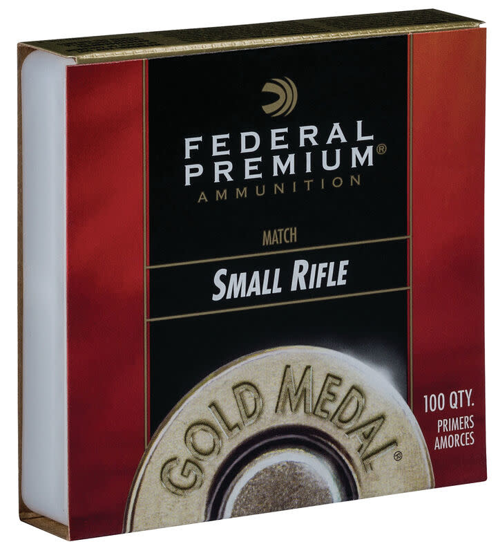 Federal Gold Medal Small Rifle Match Primers (100 Pk)