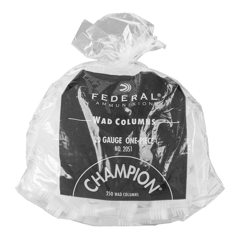 Federal Champion Wad Columns 20 Gauge #20S1 (250 Pk)