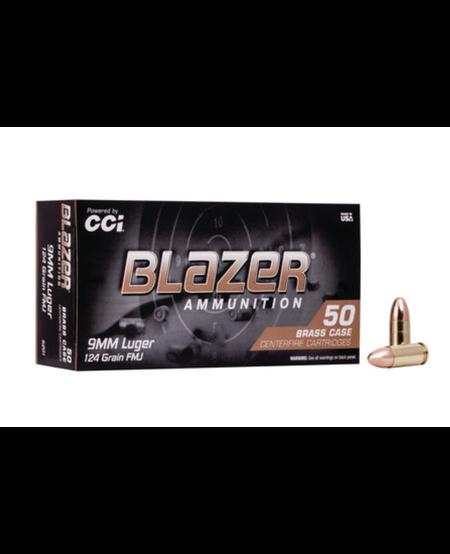 Blazer Brass 9mm LUGER 124gr FMJ 5201